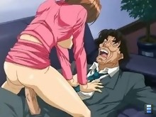 "Porn Anime: There, he sees the grimy, grey-skinned Kusaki: a guy with the ""Letch Look"""